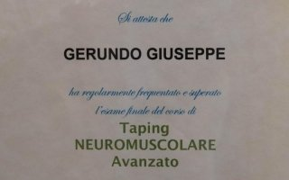 corso Taping Neuromuscolare