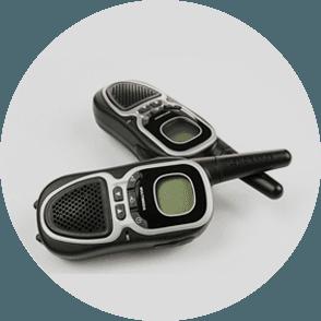 Digital radios for hire