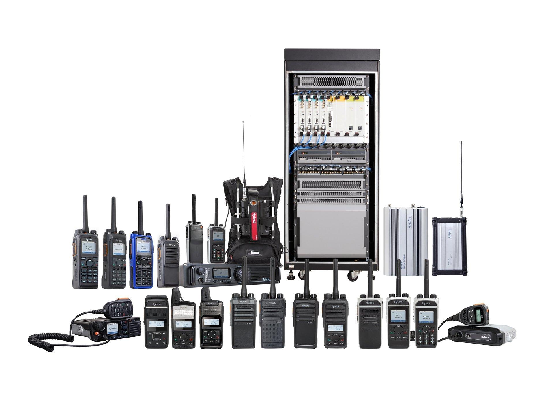 Short and long-range radios