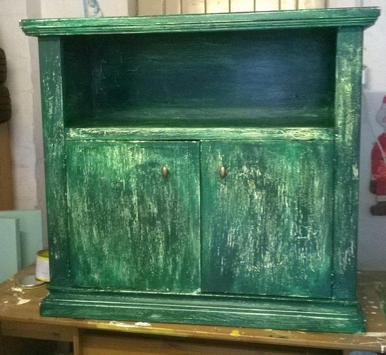 mobiletto verde