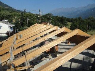 rifacimento tetti in lamellare