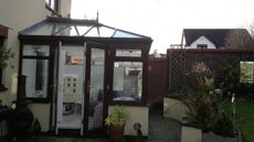 A completed conservatory project