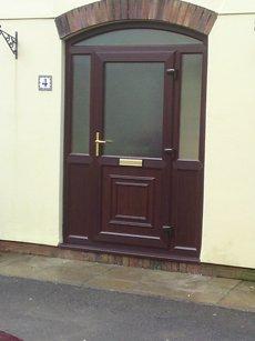 A new uPVC door