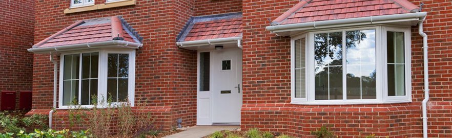 A new build property with new uPVC Windows and Doors