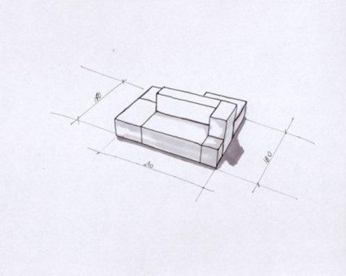 Progetto divano componibile
