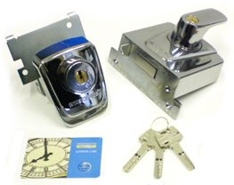 Ingersoll lock, high security nightlatch, high security lock