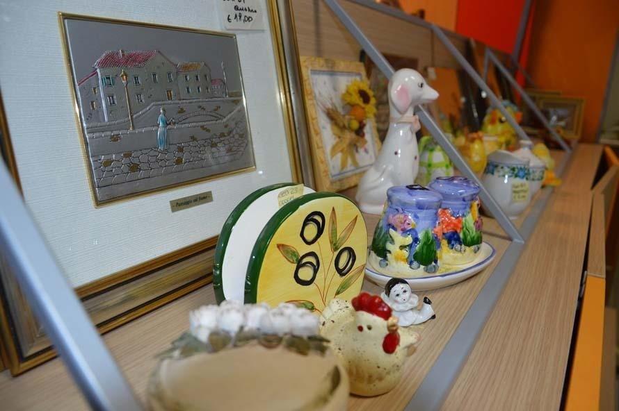 Accessori decorativi in porcellana