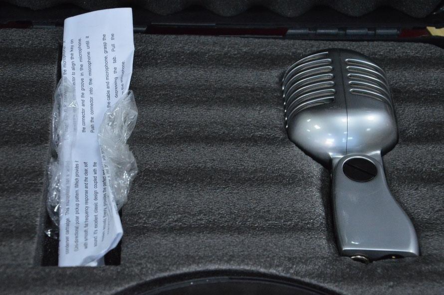 Microfono anni cinquanta
