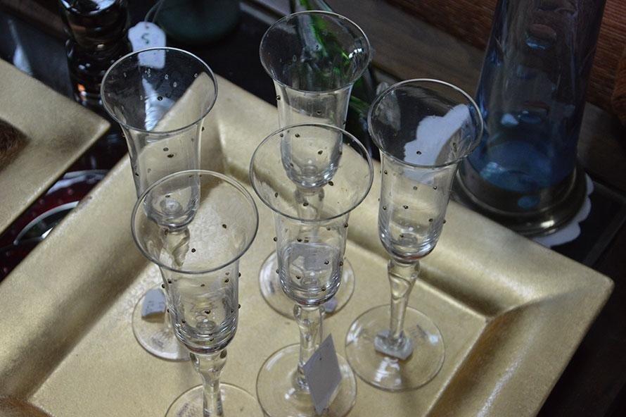 Bicchieri in critallo