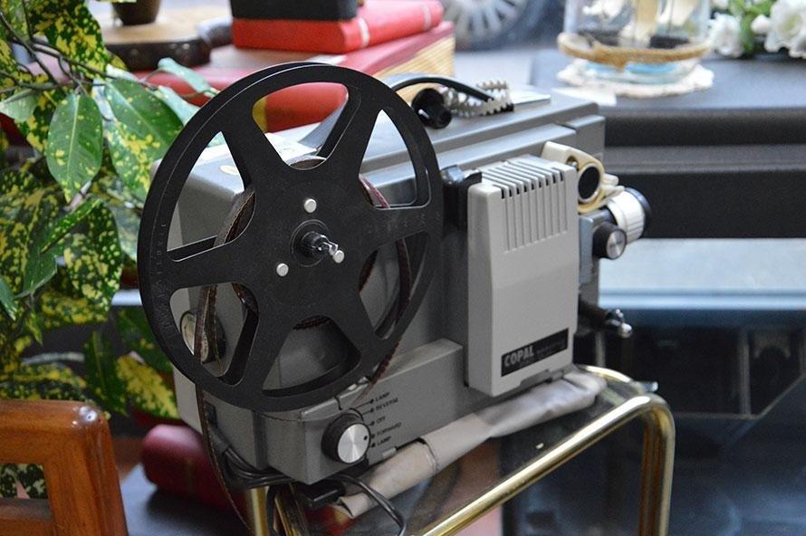 Video proiettore antico