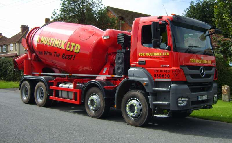 8m³ truck mixer
