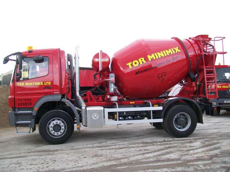 TOR MINIMIX vehicle
