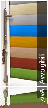 avvolgibili colorati, infissi a taglio termico, serramenti