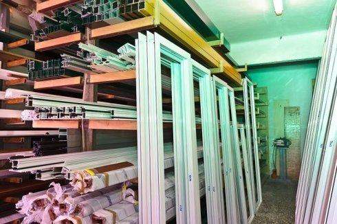 infissi in alluminio, serramenti su misura