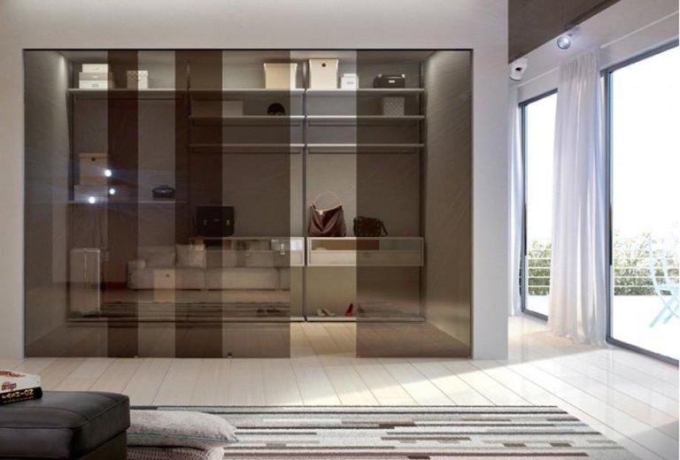 cabine armadio in vetro