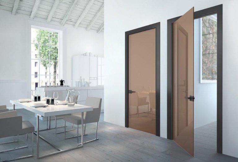 porte da interno Henry glass