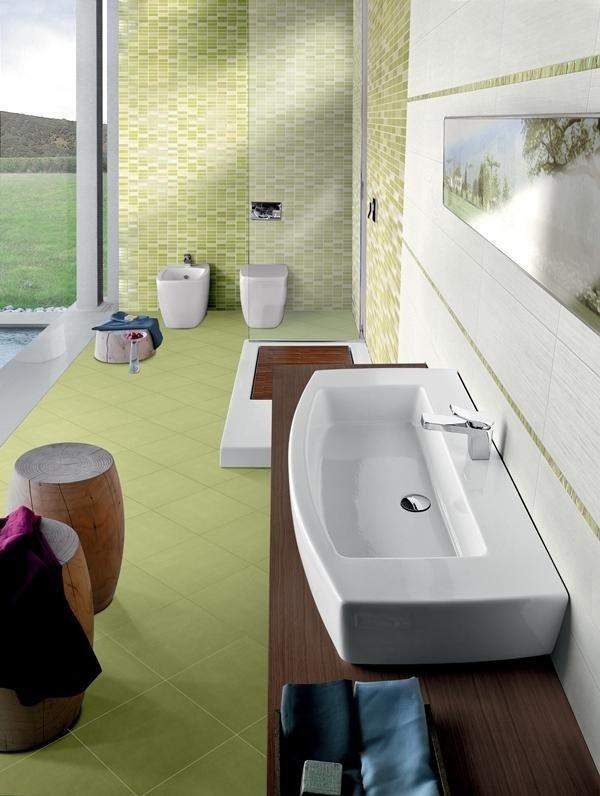 lavabo bianco ceramica Verve