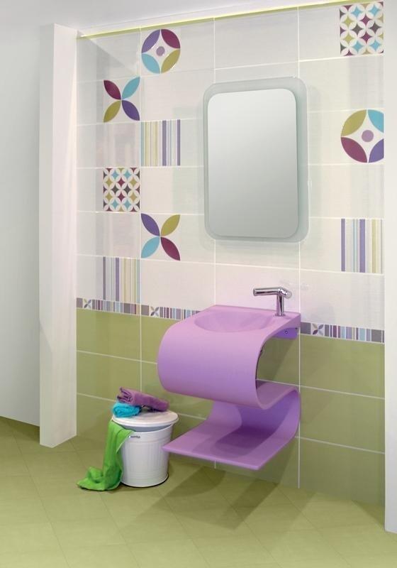 particolare specchio bagno