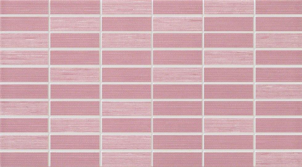 piastrella rettangoli rosa