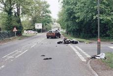 car crash inspection