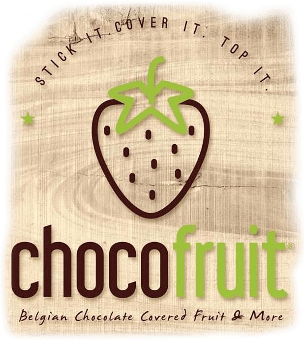 Chocofruit Belgian Chocolate Fruit & More Logo