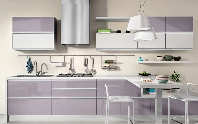 cucina viola creo kitchens