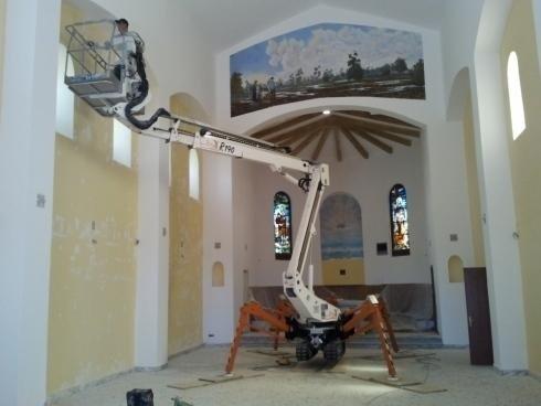 Rifacimento chiesa