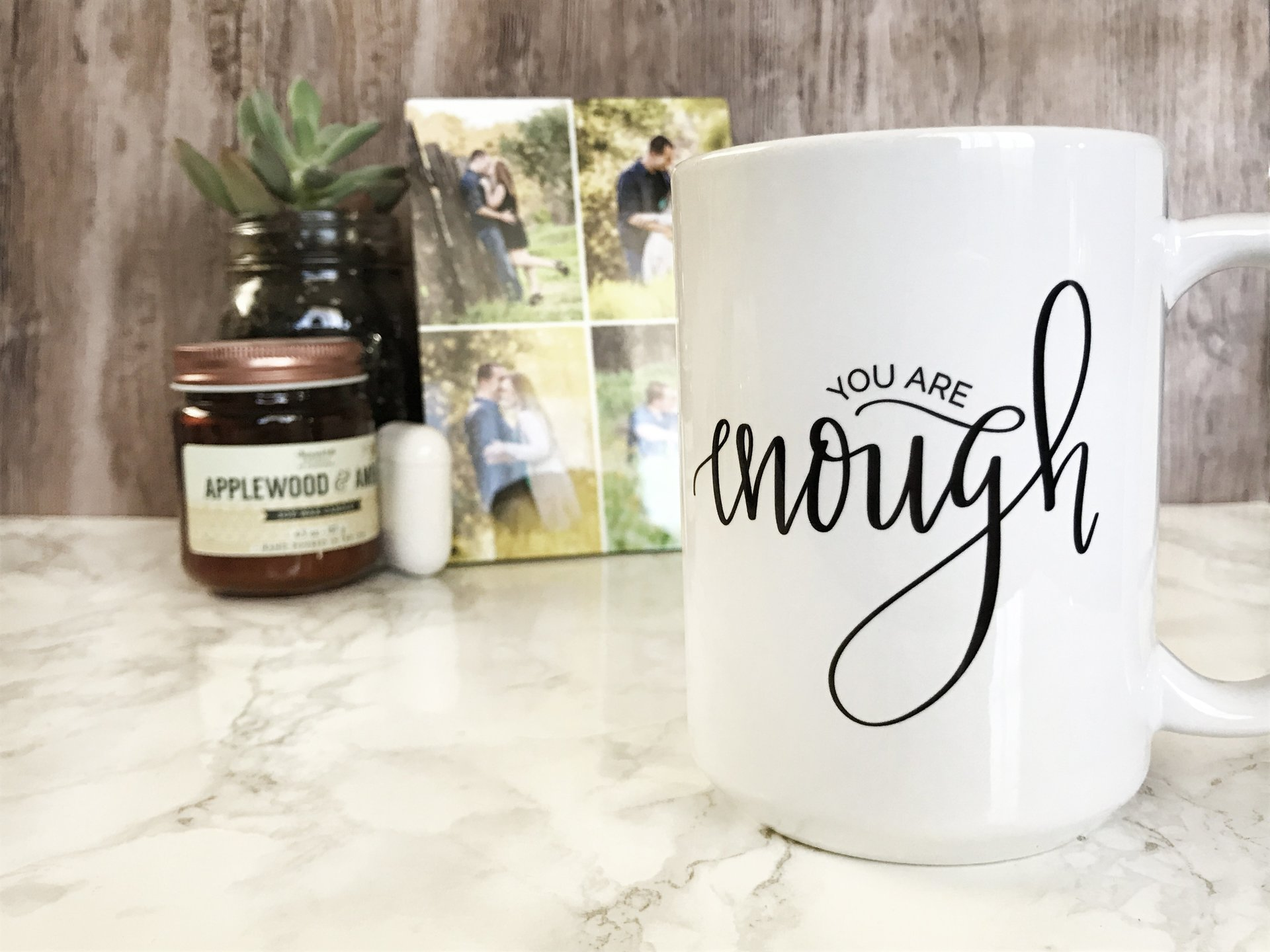You Are Enough | 15oz Mug