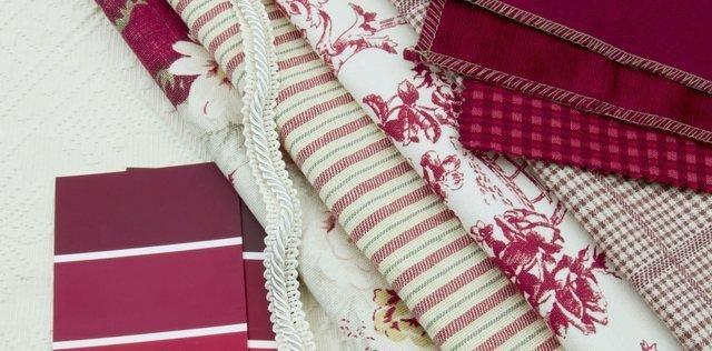 Campioni di tessuto per tende