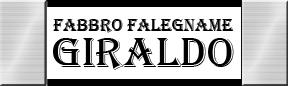 FABBRO FALEGNAME GIRALDO