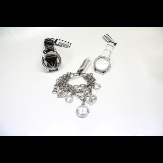 orologi e bracciali in acciaio