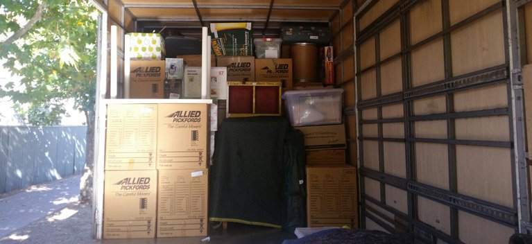 adelaide northern removals packed items