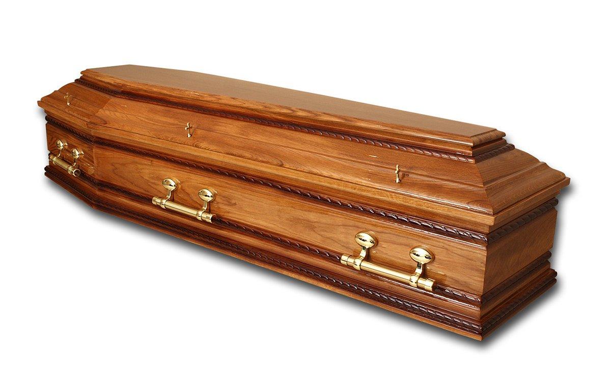 Walnut wood coffins
