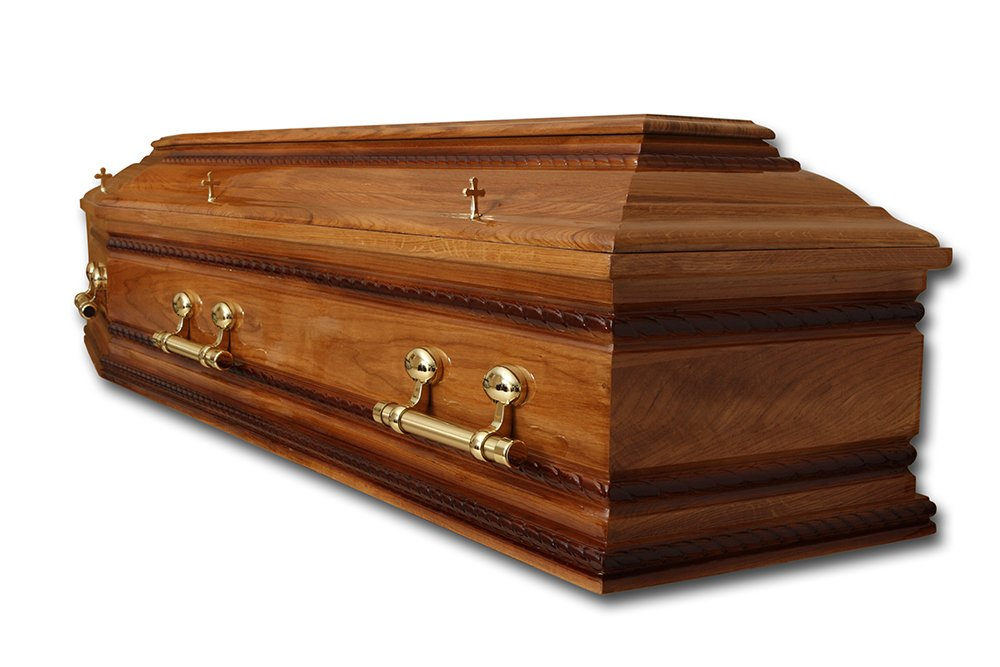 Beautifully crafted coffins