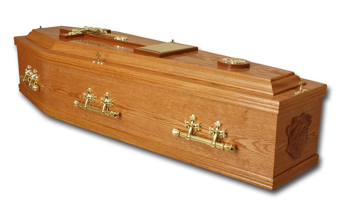 Craved coffins