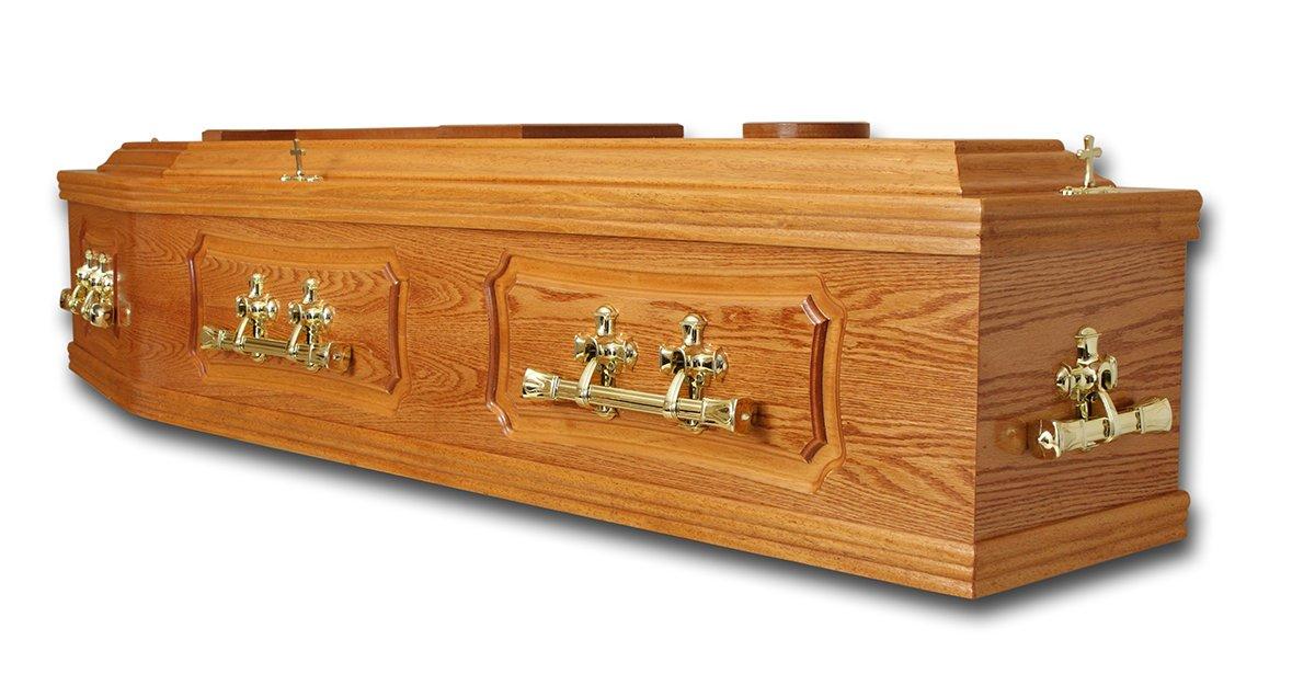 Wooden hearse