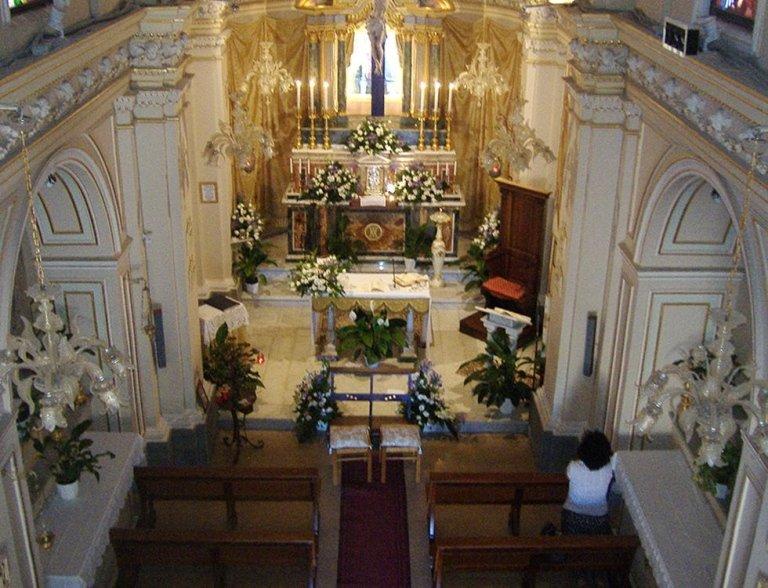 addobbo chiesa per matrimonio catania