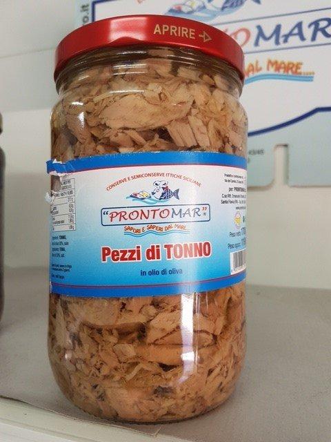 Conserve ittiche siciliane