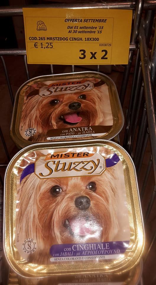 mangime per cani in scatolette