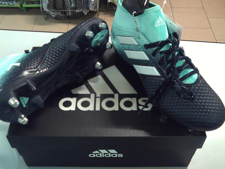 Scarpe da calcio con calzino suola mista Adidas Ace 17.3 sg
