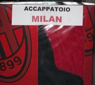 Accappatoio ufficiale Milan