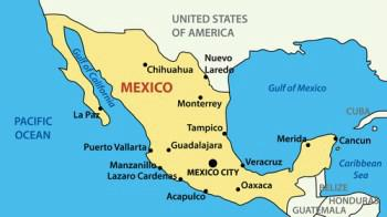 Map of Mexico Chihuahua dog origin