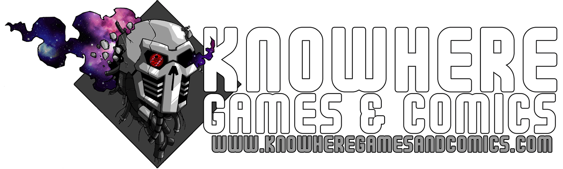 Knowhere Games and Comics Logo