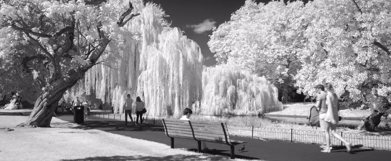 London vô hình - Một video về nhiếp ảnh hồng ngoại