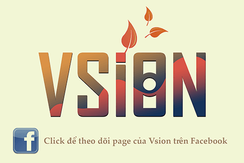 Vsion animated logo