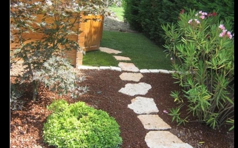 Pavimentazione del giardino