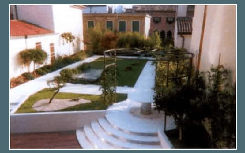 Creazione di giardini e terrazzi pensili padova - Terrazzi e giardini pensili ...