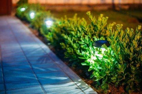 illuminazione giardino
