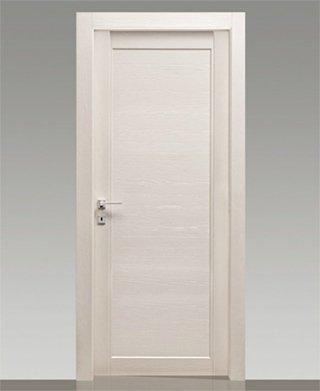 Porta laccata bianca finest porta laccata bianca con vetro lavorato with porta laccata bianca - Porta a libro bianca ...