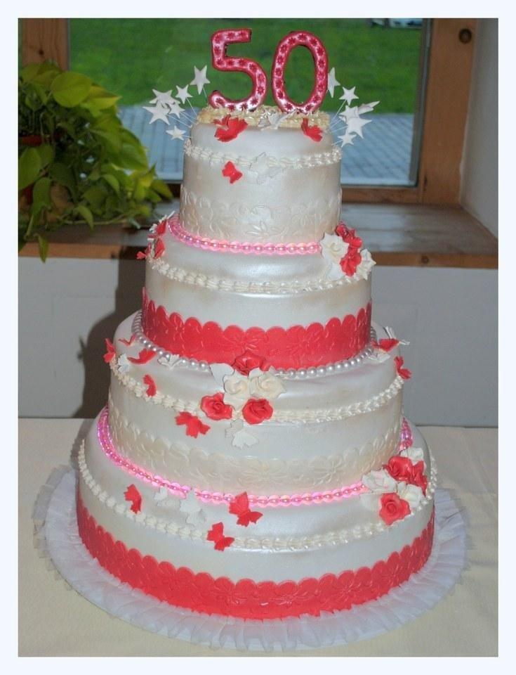 torta cinquantesimo